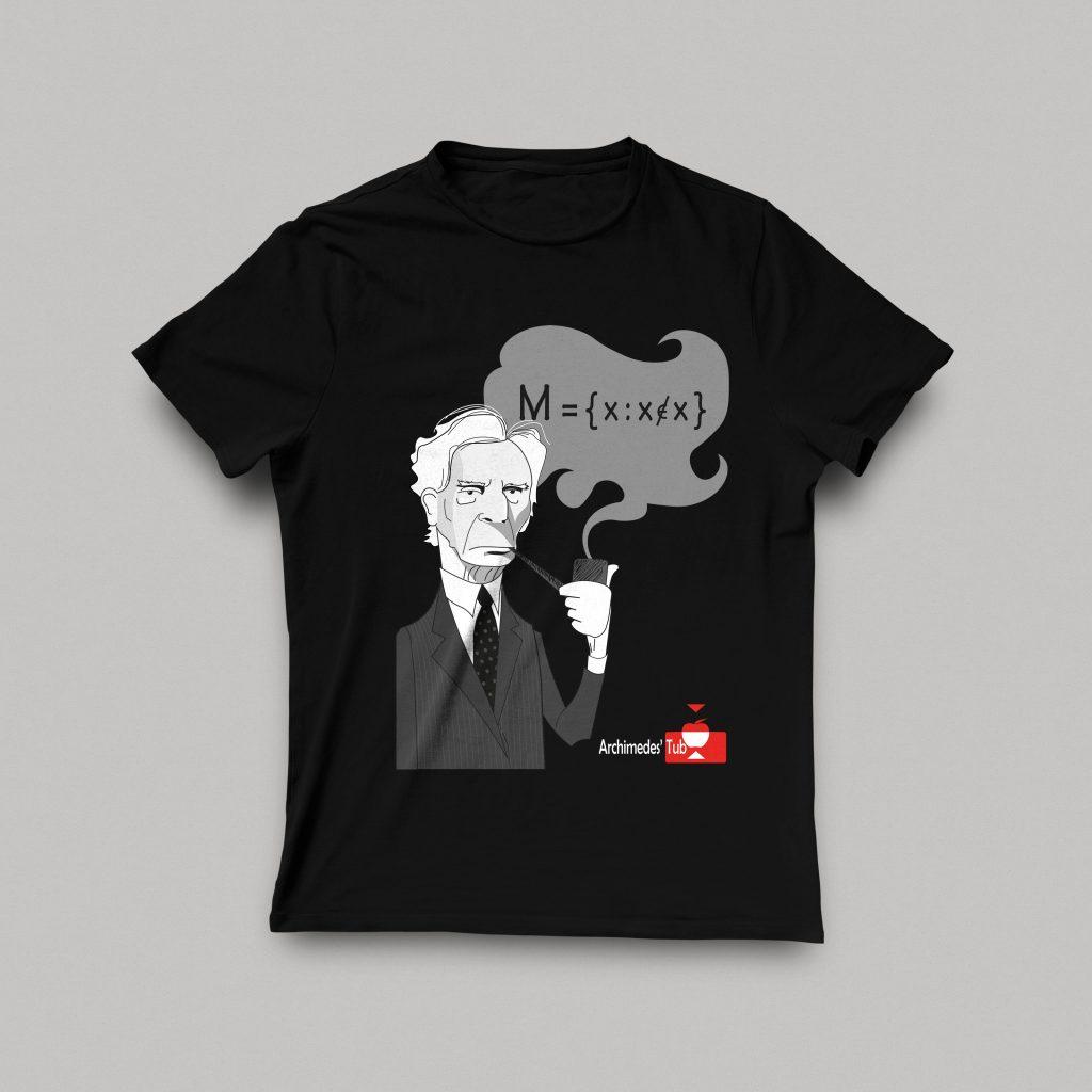 Camiseta Paradoja de Bertrand Russell