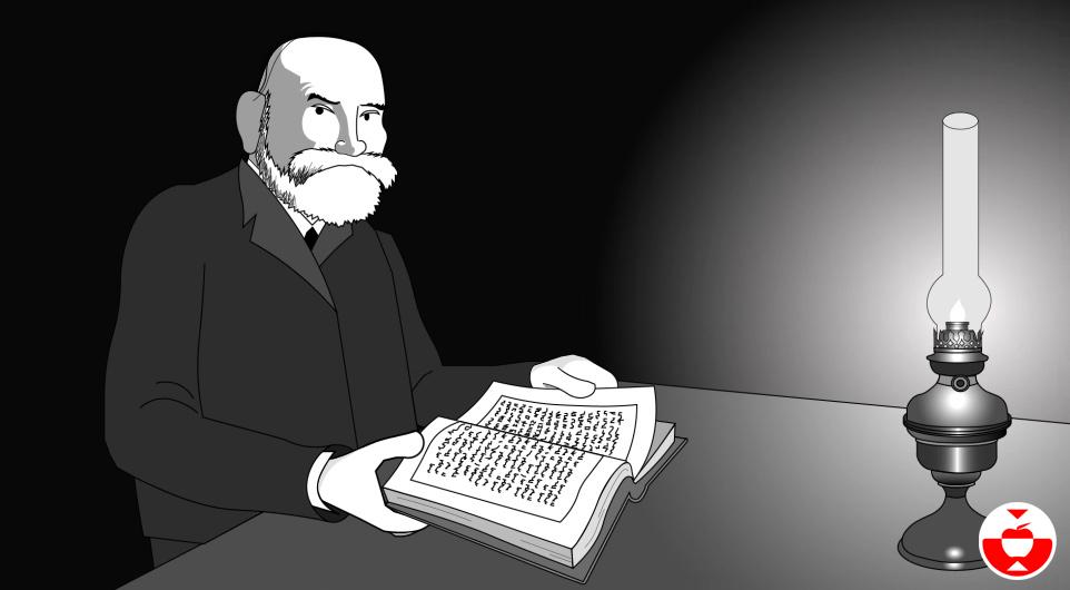 El matemático Gottlob Frege.
